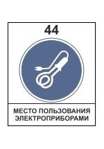 Место пользования электроприборами