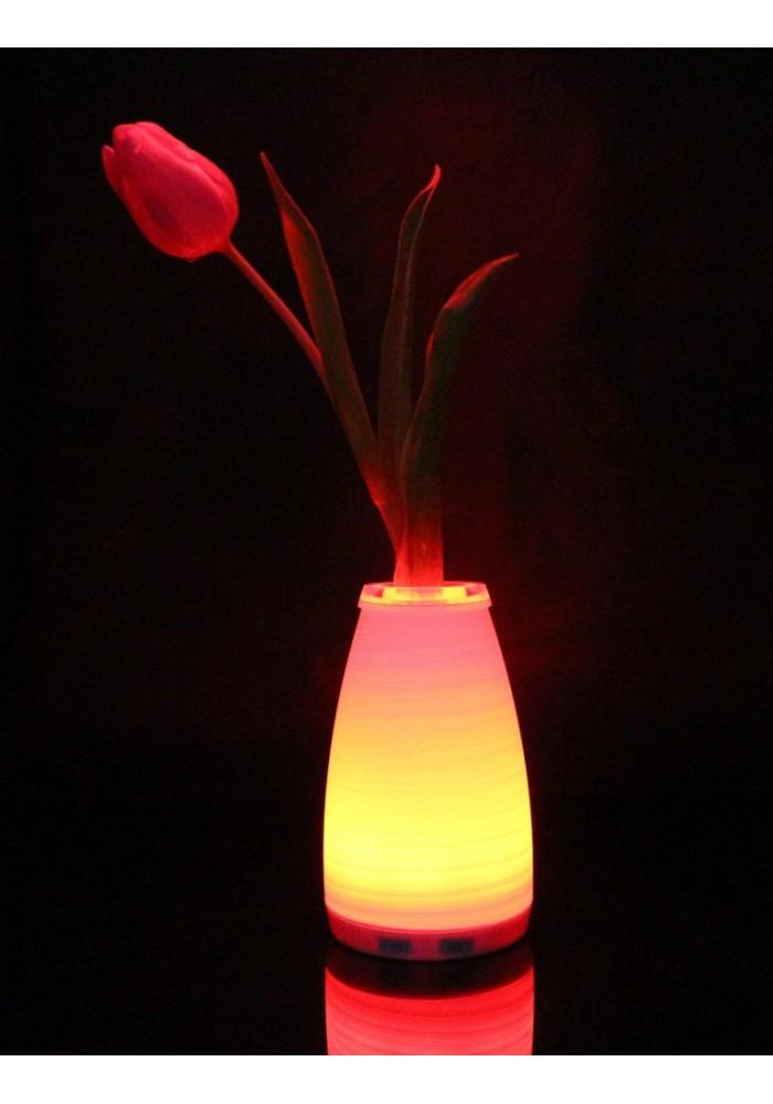 """Светильник беспроводной, аккумуляторный, переносной, для дома и дачи, ручной работы """"Нежность"""""""