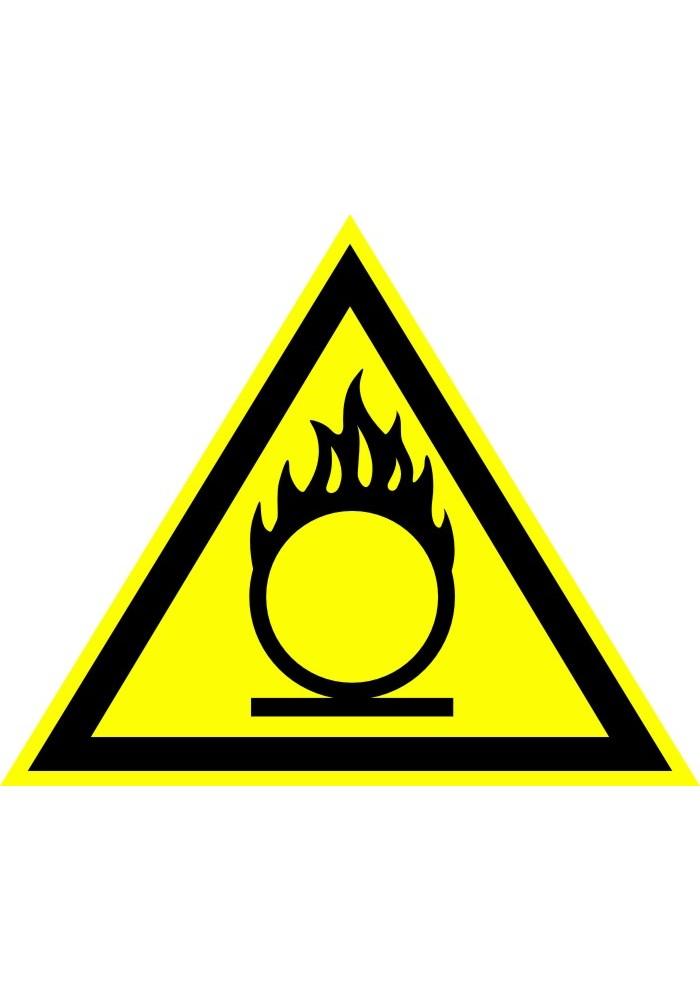 Пожароопасно! Окислитель