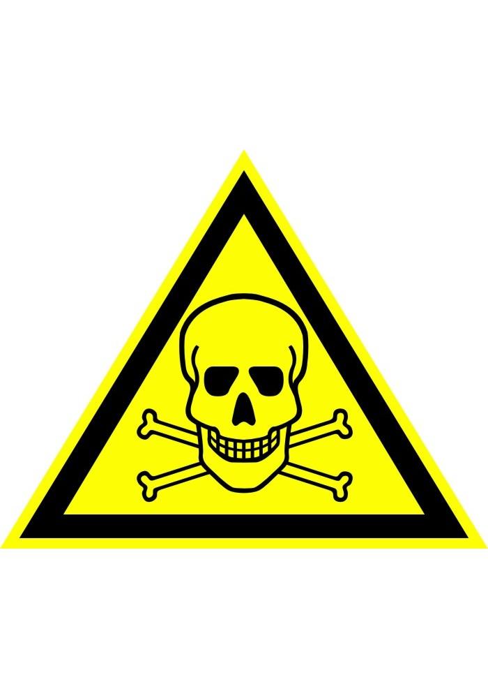 Опасно. Ядовитые вещества